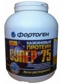Протеин Фортоген Супер 75 Казеиновый 3 кг