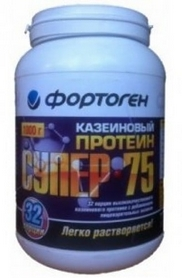 Протеин Фортоген Супер 75 Казеиновый 1 кг