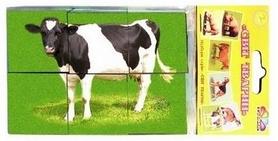 Кубики развивающие Gamma Мир животных выпуск 2