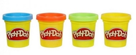 Набор Play-Doh 4 мини-баночки Hasbro