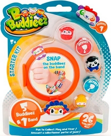 Набор игровой JupiterCre Bbuddieez с 5 фигурками и браслетом