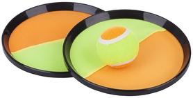 Набор с тарелками-ловушками и мячиком Torneo Set Magic Catchball оранжевый