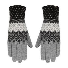 Перчатки зимние Salewa Fanes Wool Gloves 25366/0632 серые