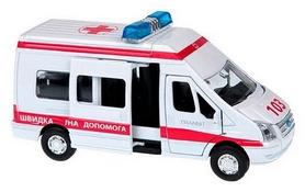 Машинка игрушечная Технопарк Ford Transit Реанимация (1:43)