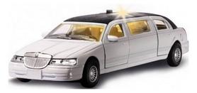Машинка игрушечная Технопарк Лимузин (1:43) белая