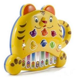 Игра электронная развивающая Пианино  Mommy Love Тигренок