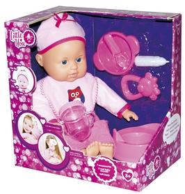 Набор игровой Little You Пупс с аксессуарами розовый