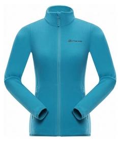 Куртка женская флисовая Alpine Pro Cassiusa LSWK097622 бирюзовая