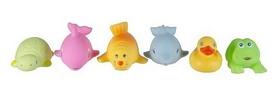 Набор игрушек для ванной в виниловой сумочке Grow Up 6 шт