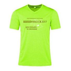 Футболка женская Turbat Gorgany Race 2017 зеленая
