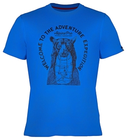 Футболка мужская Alpine Pro Abic 4 MTSK216602PB синяя