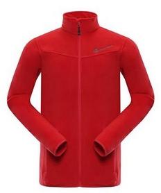 Куртка мужская флисовая Alpine Pro Cassius MSWK109475 красная