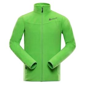 Куртка мужская флисовая Alpine Pro Cassius MSWK109543 зеленая