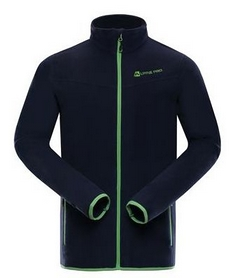 alpine pro Куртка мужская флисовая Alpine Pro Cassius MSWK109602 синяя 007.006.031