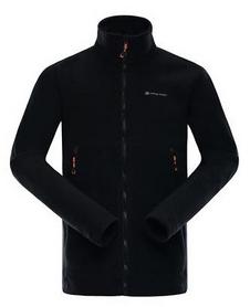Куртка мужская флисовая Alpine Pro Lavaredo 3 MSWK073990 черная