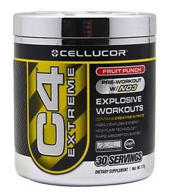Спецпрепараты (предтренировочный комплекс) Cellucor C4 Extreme, 195 г (30 порций)
