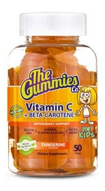 Витамины The Gummies Co. GUM Kids Vitamin C + Beta Carotene (50 желеек)