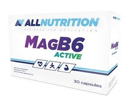Витамин AllNutrition Mag B6 Active (30 капсул)