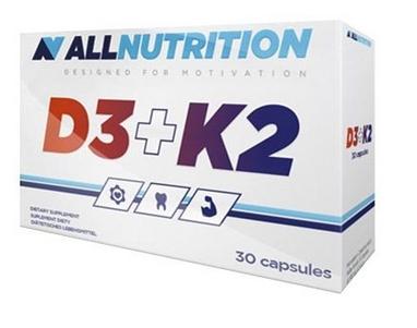 Витамины AllNutrition Vit D3+K2 (30 капсул)