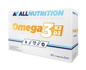Витамины AllNutrition Vit Omega3+D3+K2 (30 таблеток)