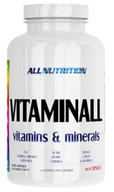 Комплекс витаминов и минералов AllNutrition Vitamin ALL Vitamins & Minerals (60 капсул)