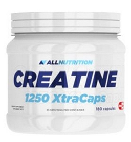Креатин AllNutrition Creatine 1250 Xtra Caps (180 капсул)