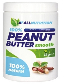 Спецпрепарат AllNutrition 100% Peanut Butter Smooth (1 кг)