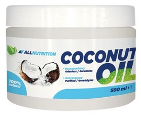 allnutrition Спецпродукт AllNutrition Coconut Oil рафинированное (500 мл) 5902751330366