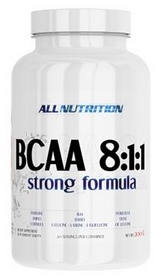 allnutrition Аминокислоты AllNutrition BCAA AN BCAA 8:1:1 Strong Formula (200 г) - Вишня 5902135843765