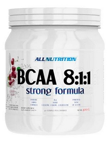 allnutrition Аминокислоты AllNutrition BCAA AN BCAA 8:1:1 Strong Formula (400 г) 59021358431091