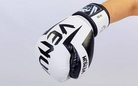 Фото 3 к товару Перчатки боксерские на липучке VenumBO-5698-W белые
