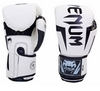 Перчатки боксерские на липучке VenumBO-5698-W белые - фото 1
