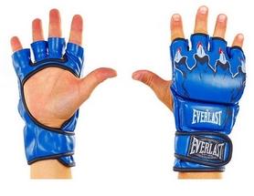Перчатки для смешанных единоборств MMA Everlast BO-3207-B синие