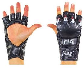 Перчатки для смешанных единоборств MMA Everlast BO-3207-BK черные