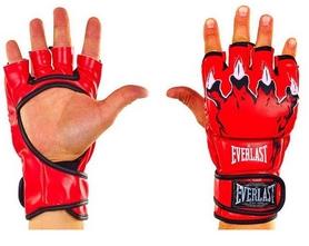 Перчатки для смешанных единоборств MMA Everlast BO-3207-R красные