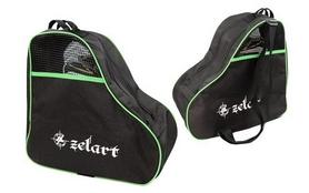 Сумка для роликов Zel SK-4682-G зеленая