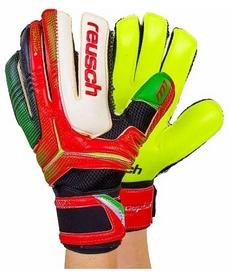 Перчатки вратарские с защитными вставками на пальцы Reusch FB-869-2 красные