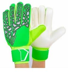 Перчатки вратарские с защитными вставками на пальцы Reusch FB-888-2 салатовые