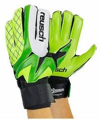 Перчатки вратарские юниорские Reusch FB-853B-1 салатовые