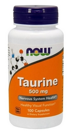 Спецпрепарат Now Taurine 500 мг (100 капсул)
