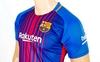 Форма футбольная детская (шорты, футболка) Soccer Barcelona 2018 домашняя CO-3900-BAR-8 синяя - фото 3