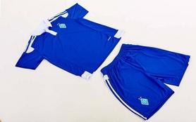 Фото 7 к товару Форма футбольная детская (шорты, футболка) Soccer Динамо Киев 2017 гостевая синяя CO-3900-DN-B синяя
