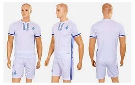 Фото 4 к товару Форма футбольная детская (шорты, футболка) Soccer Динамо Киев 2017 CO-3900-DN1-B белая