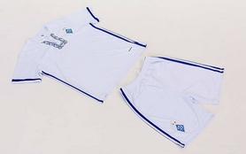 Фото 8 к товару Форма футбольная детская (шорты, футболка) Soccer Динамо Киев 2017 CO-3900-DN1-B белая