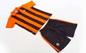 Фото 8 к товару Форма футбольная детская (шорты, футболка) Soccer Шахтер 2017 домашняя CO-3900-SH оранжевая