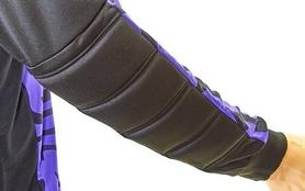 Фото 8 к товару Форма вратарская футбольная Soccer детская CO-0233-V фиолетовая