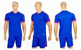 Фото 4 к товару Форма футбольная (шорты, футболка) Soccer Chic CO-1608-B синяя