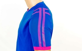 Фото 7 к товару Форма футбольная (шорты, футболка) Soccer Chic CO-1608-B синяя