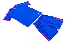 Фото 10 к товару Форма футбольная (шорты, футболка) Soccer Chic CO-1608-B синяя