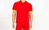 Форма футбольная (шорты, футболка) Soccer Chic CO-1608-R красная - фото 2